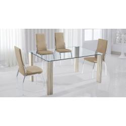 Conjunto mesa + 6 sillas Sakura